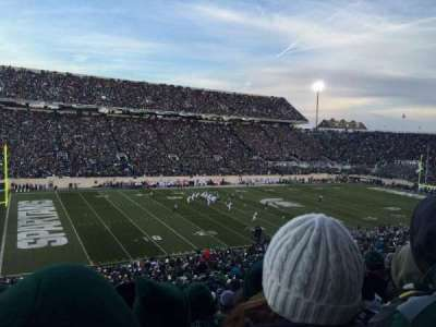 Spartan Stadium, section: 27, row: 55, seat: 4