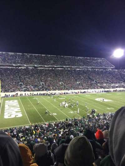 Spartan Stadium, section: 27, row: 55, seat: 2