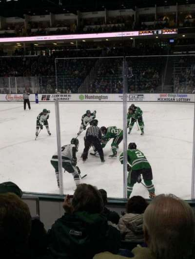 Munn Ice Arena, section: F, row: 7, seat: 7