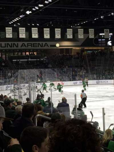 Munn Ice Arena, section: G, row: 9, seat: 4