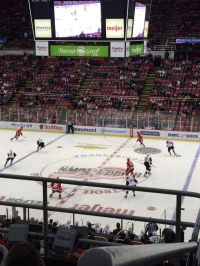 Joe Louis Arena, section: 220, row: 5, seat: 12