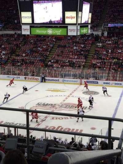 Joe Louis Arena, section: 220, row: 5, seat: 12