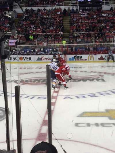 Joe Louis Arena section 107