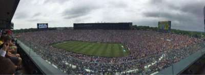 Michigan Stadium, section: 425, row: 1, seat: 10