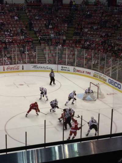 Joe Louis Arena, section: 220, row: 6, seat: 13