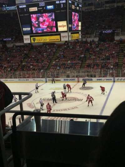 Joe Louis Arena, section: 220, row: 3, seat: 6