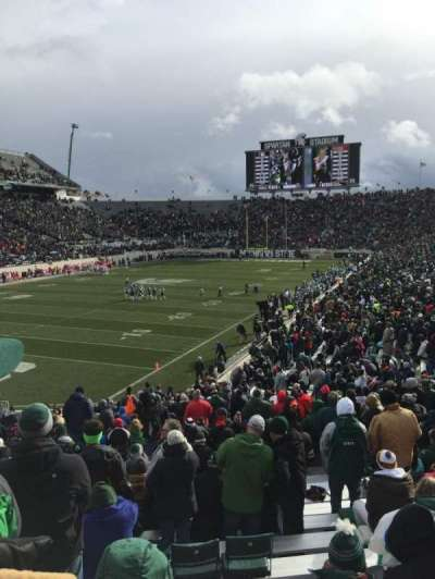 Spartan Stadium, section: 28, row: 34, seat: 54