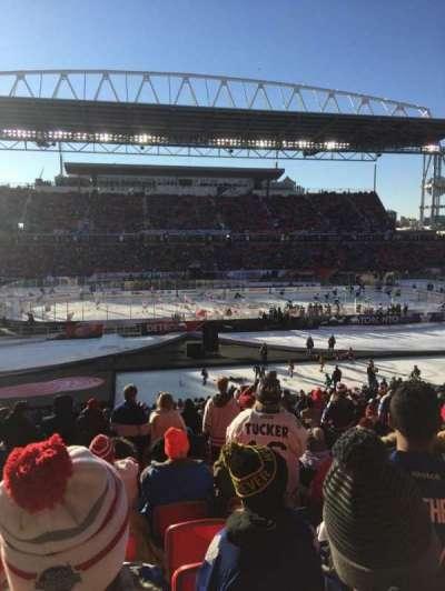 BMO Field, section: 108, row: 28, seat: 29