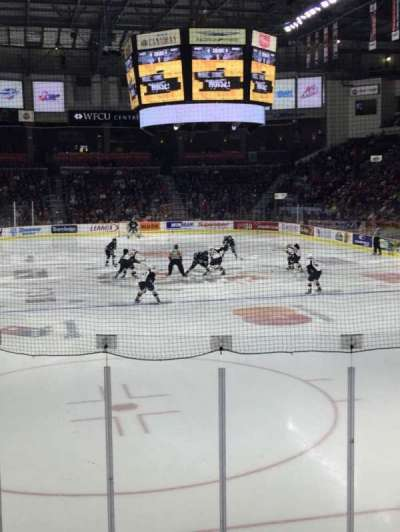 WFCU Centre, section: 110, row: I, seat: 6