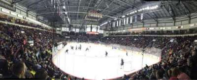 WFCU Centre, section: 110, row: I, seat: 7