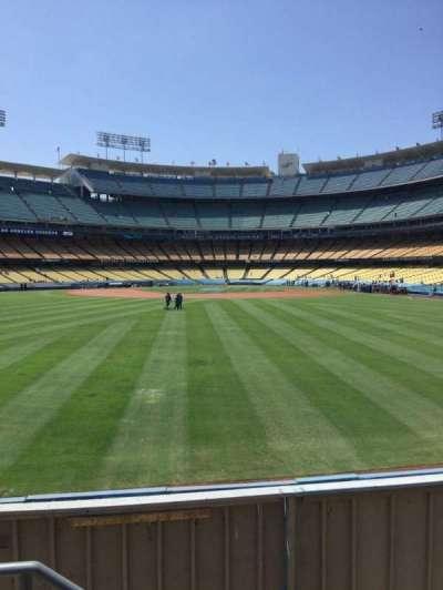 Dodger Stadium, section: 309, row: B, seat: 18