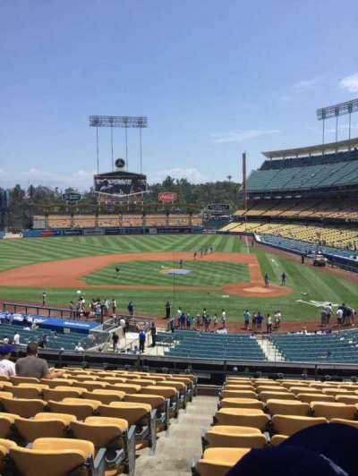 Dodger Stadium, section: 119, row: L, seat: 7