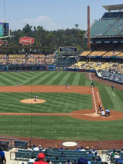 Dodger Stadium section 119LG
