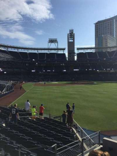 PETCO Park, section: 129, row: 6, seat: 1