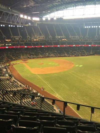 Chase Field, section: 301, row: 6, seat: 7