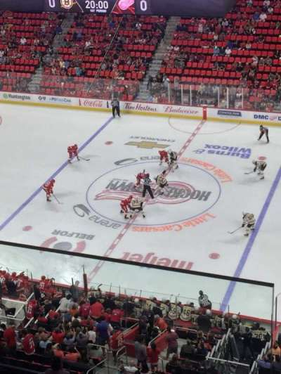 Little Caesars Arena, section: 225, row: 2, seat: 10