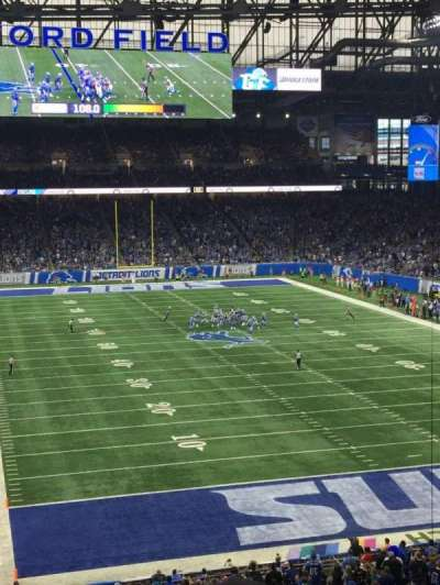 Ford Field, section: 241, row: 4, seat: 18