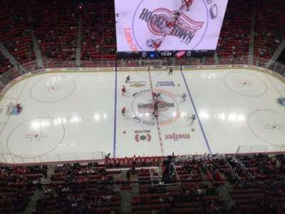 Little Caesars Arena, section: G24, row: 1, seat: 1