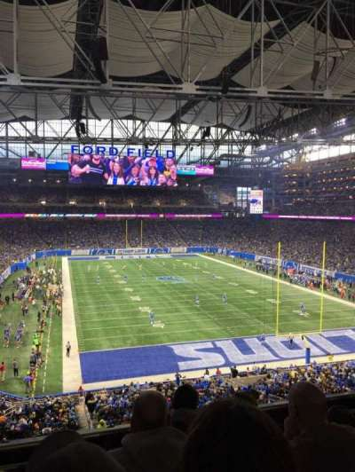 Ford Field, section: 241, row: 4, seat: 15