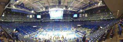 Rupp Arena, section: 14, row: U, seat: 6