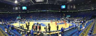 Rupp Arena, section: 14, row: B, seat: 9