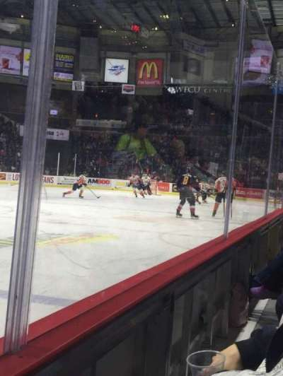 WFCU Centre, section: 105, row: A, seat: 11