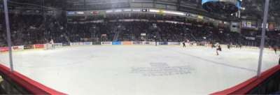 WFCU Centre, section: 105, row: A, seat: 12