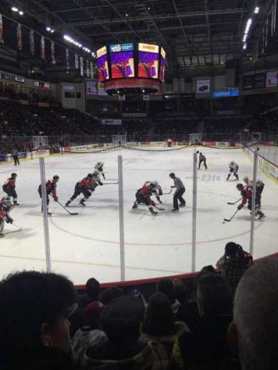 WFCU Centre, section: 108, row: F, seat: 7