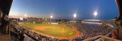 Cooley Law School Stadium, section: CLUB, row: 2, seat: 2