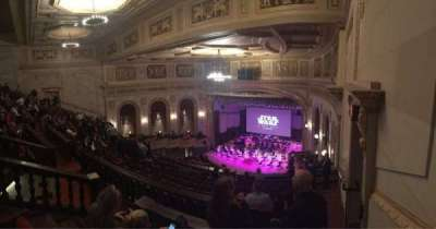 Orchestra Hall section MidBalc