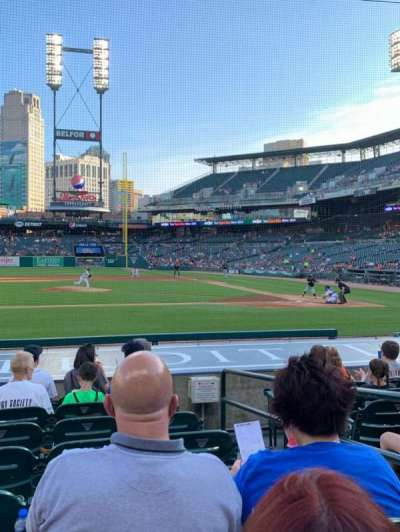 Comerica Park section 133