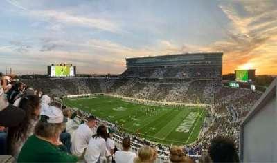 Spartan Stadium section 105