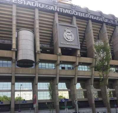 Santiago Bernabéu Stadium, section: Exterior