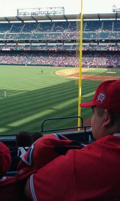Angel Stadium, section: C302, row: F, seat: 12