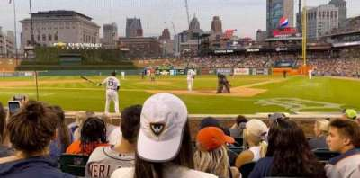 Comerica Park section 130
