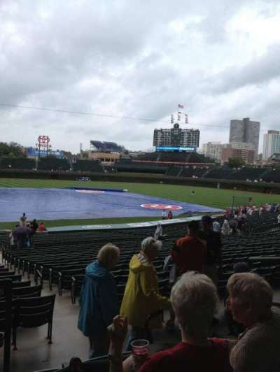 Wrigley Field, section: 226, row: 4, seat: 4
