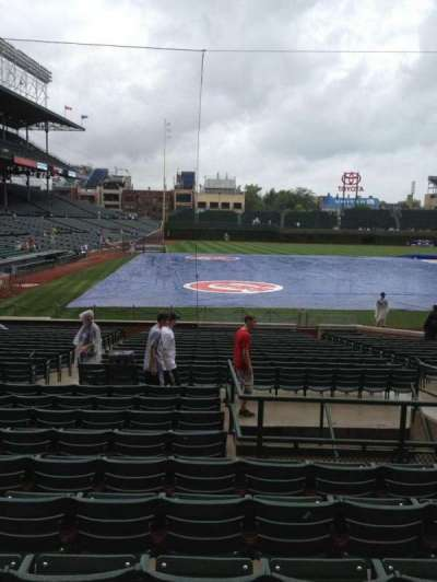 Wrigley Field, section: 126, row: 10, seat: 107