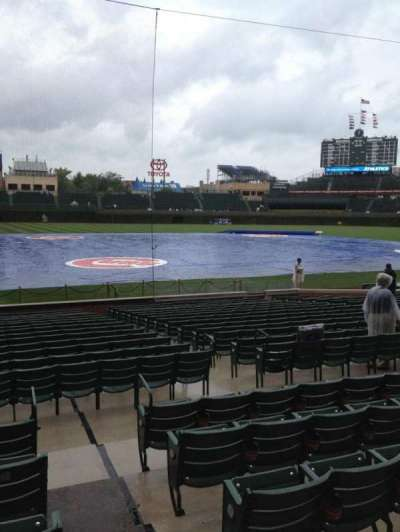 Wrigley Field, section: 124, row: 6, seat: 103