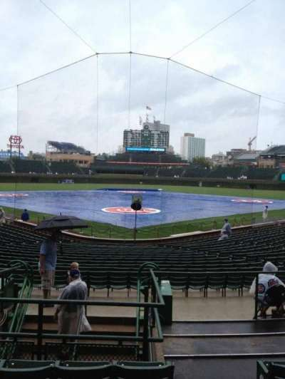 Wrigley Field, section: 121, row: 9, seat: 101