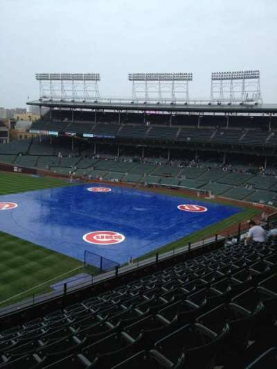 Wrigley Field, section: 406, row: 9, seat: 101