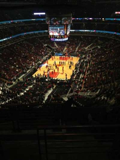 United Center section 307