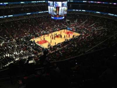 United Center section 304