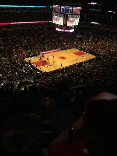 United Center section 321
