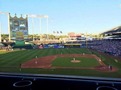 Kauffman Stadium section 309