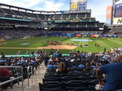 Citi Field, section: 112, row: 29, seat: 1