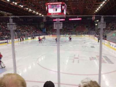 Floyd L. Maines Veterans Memorial Arena, section: 21, row: DD, seat: 8