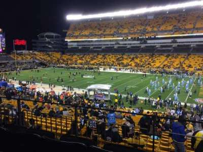 Heinz Field, section: 214, row: C, seat: 2