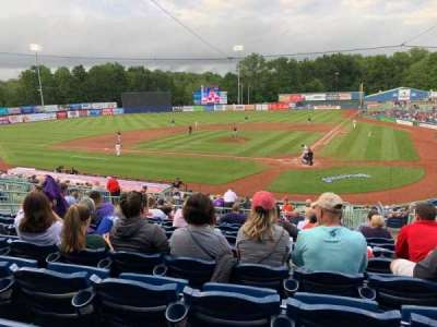 Eastwood Field, section: 210, row: L, seat: 3