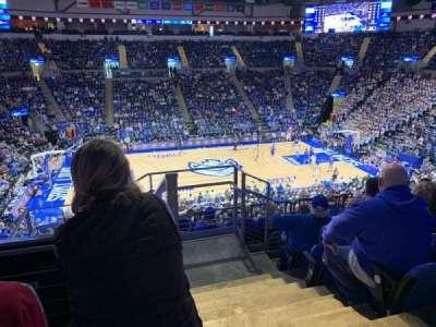 Chaifetz Arena, section: 205, row: E, seat: 1
