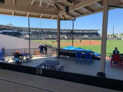 Joker Marchant Stadium, section: PEPSIU, row: A, seat: 30
